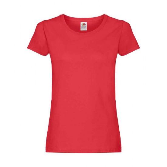 Women T-Shirt Fruit of the Loom 124.01